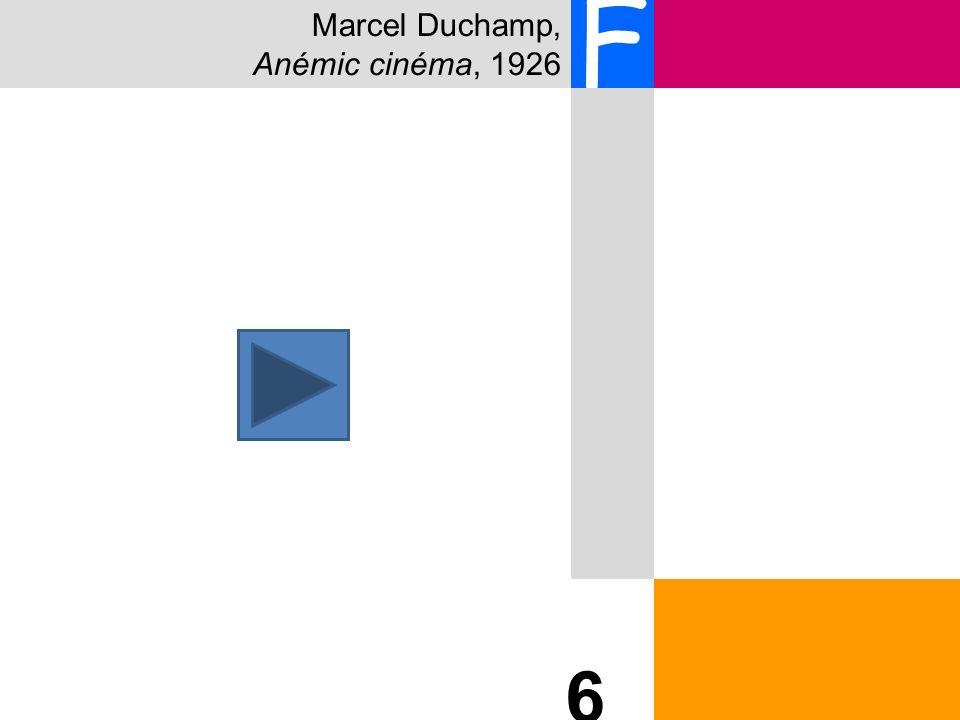 Marcel Duchamp, Anémic cinéma, 1926 F 6 6