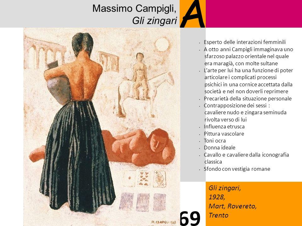 A 69 Massimo Campigli, Gli zingari Gli zingari, 1928, Mart, Rovereto,