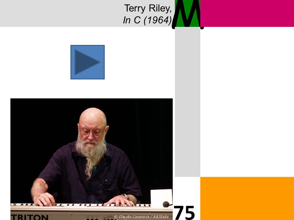 Terry Riley, In C (1964) M 75