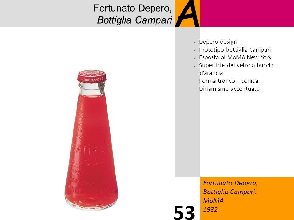 A 53 Fortunato Depero, Bottiglia Campari 1919 Fortunato Depero,