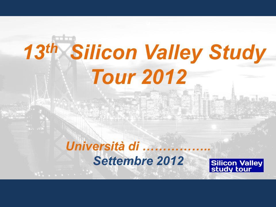 13th Silicon Valley Study Tour 2012
