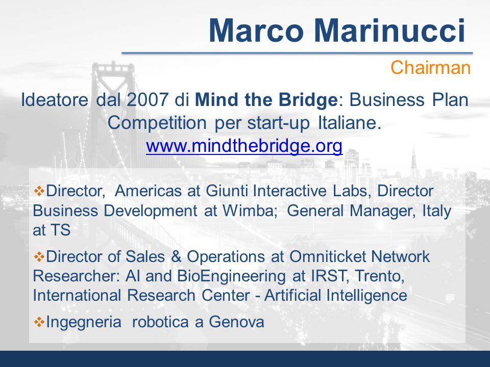 Marco Marinucci Chairman