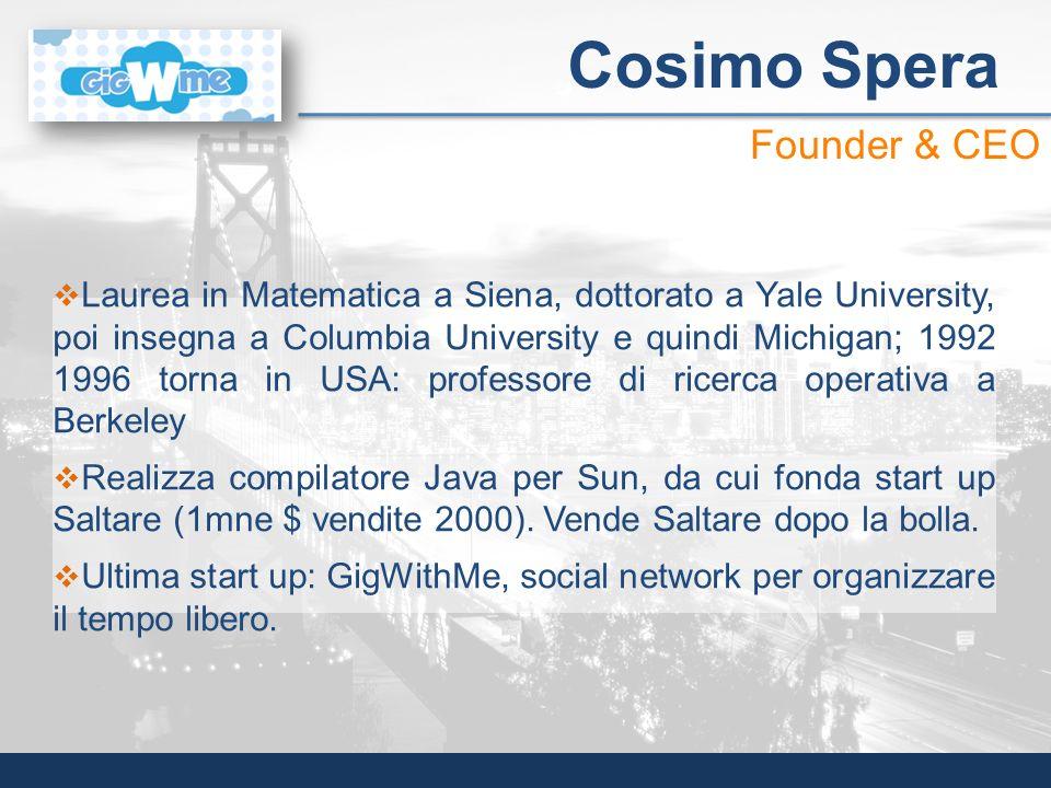 Cosimo Spera Founder & CEO
