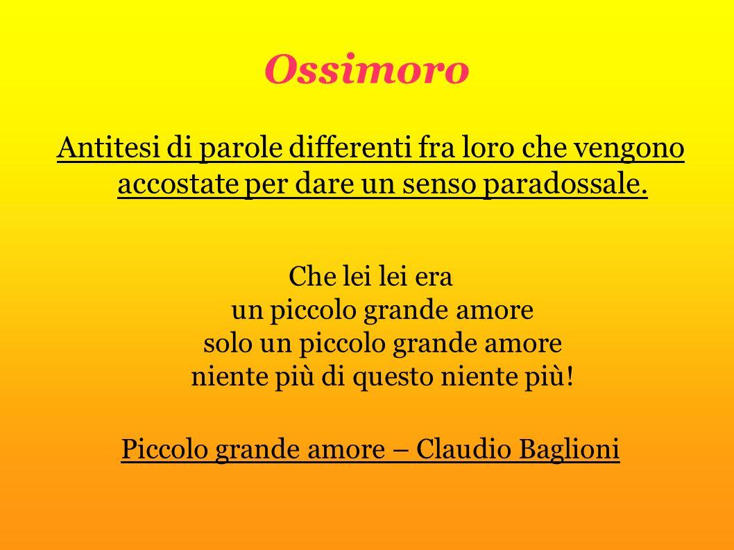 Piccolo grande amore – Claudio Baglioni