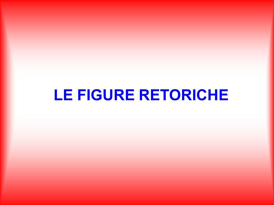 LE FIGURE RETORICHE