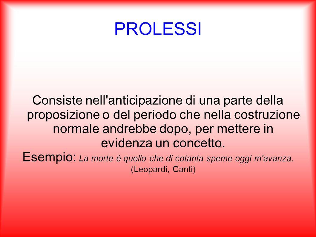 PROLESSI