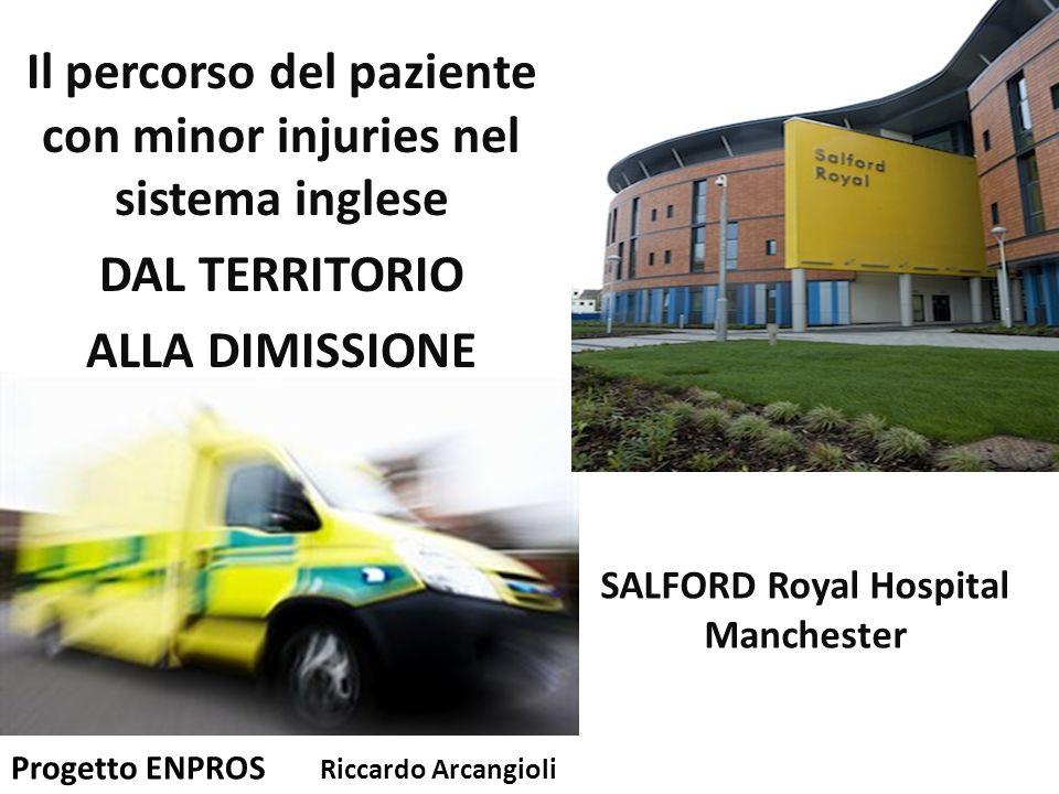 Il percorso del paziente con minor injuries nel sistema inglese