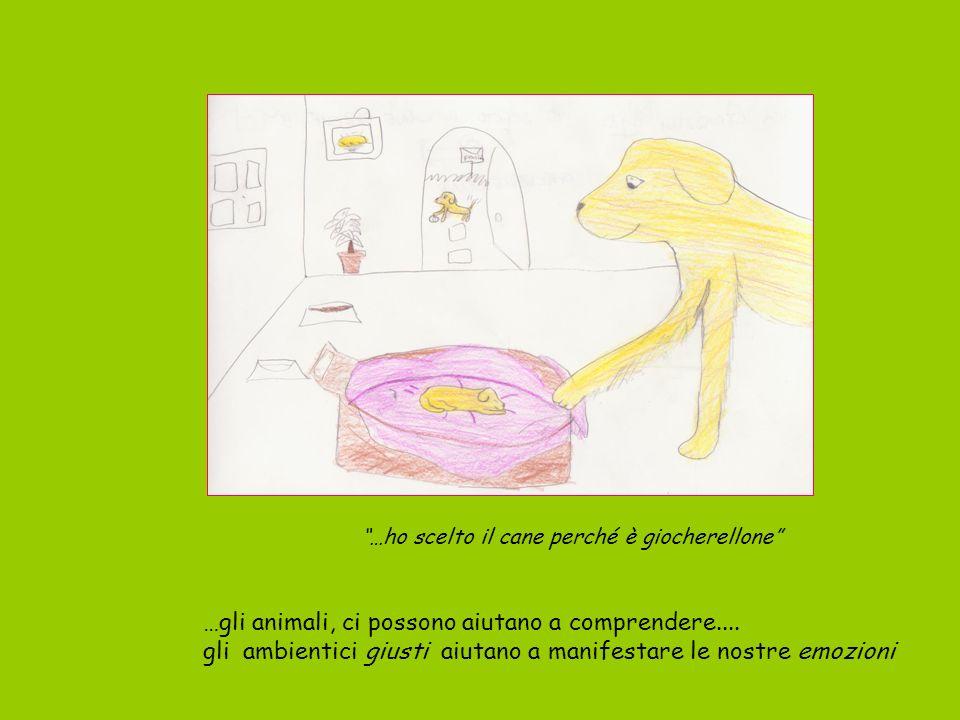 …gli animali, ci possono aiutano a comprendere....