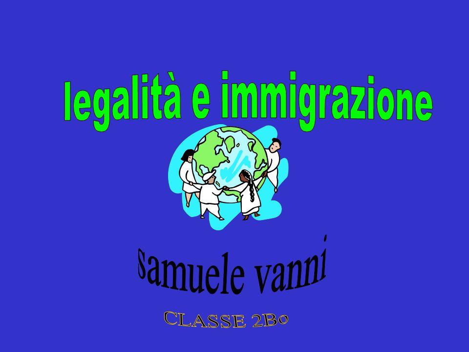 legalità e immigrazione