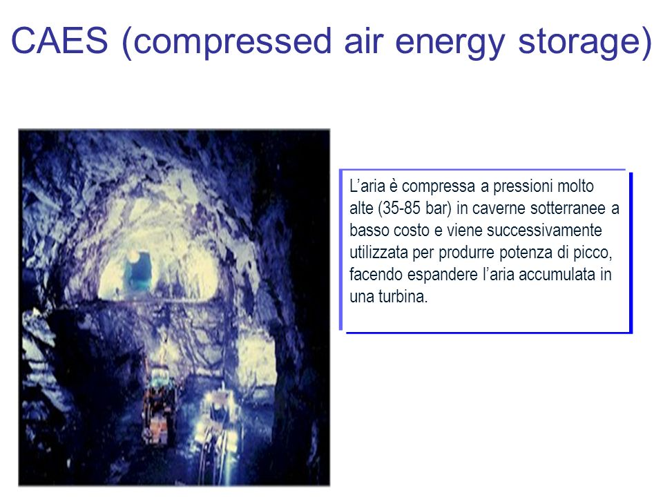 CAES (compressed air energy storage)