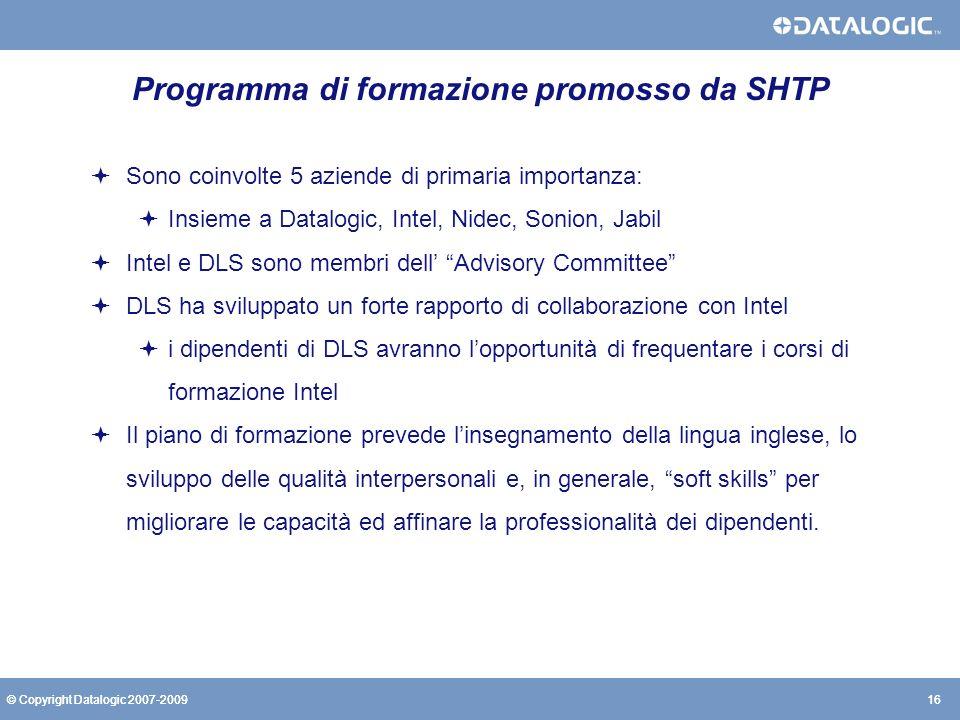 Programma di formazione promosso da SHTP
