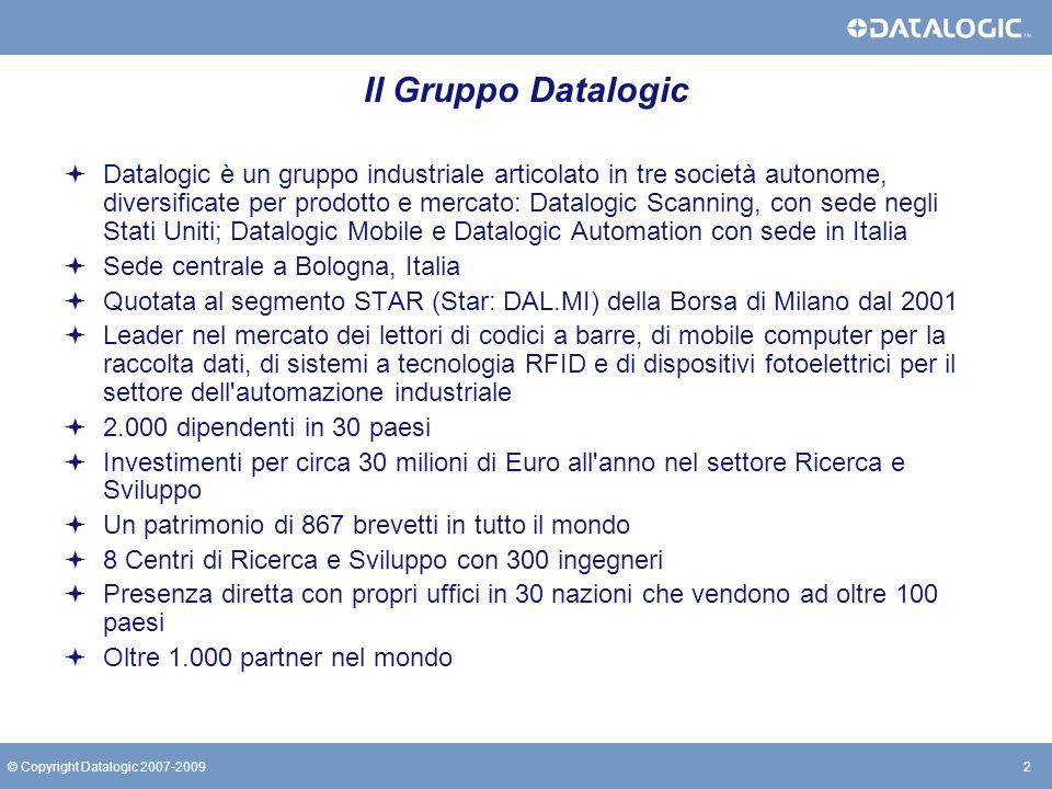 Il Gruppo Datalogic
