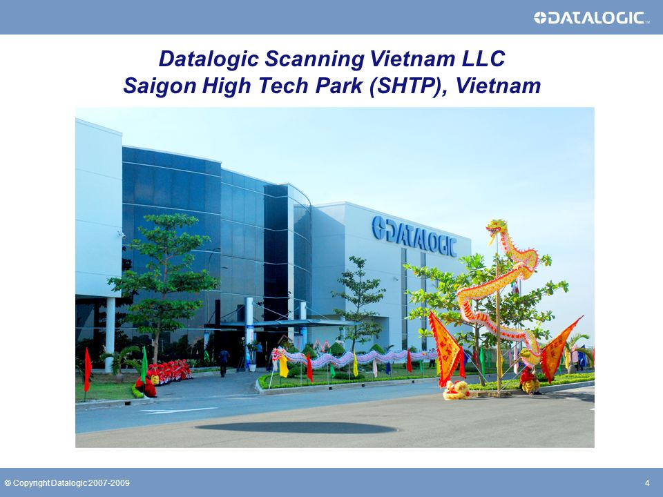 Datalogic Scanning Vietnam LLC Saigon High Tech Park (SHTP), Vietnam