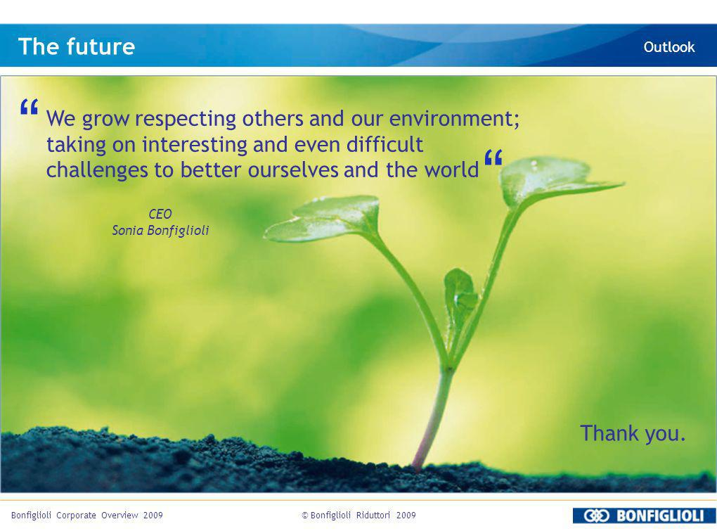 The future We grow respecting others and our environment;