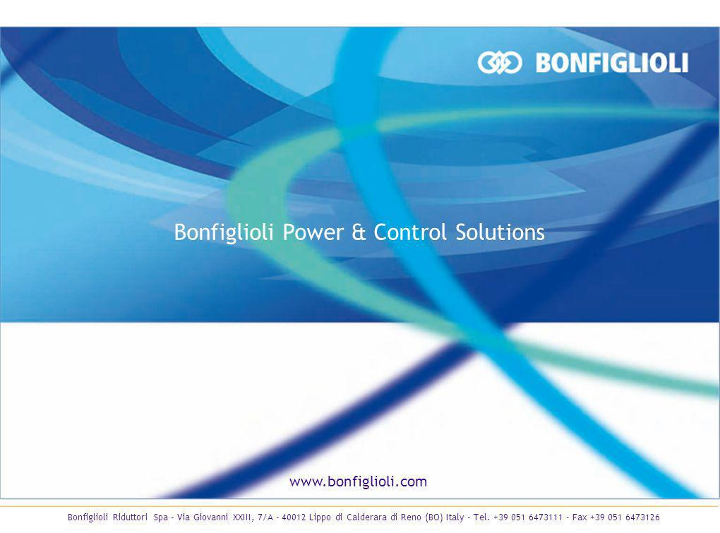 Bonfiglioli Power & Control Solutions
