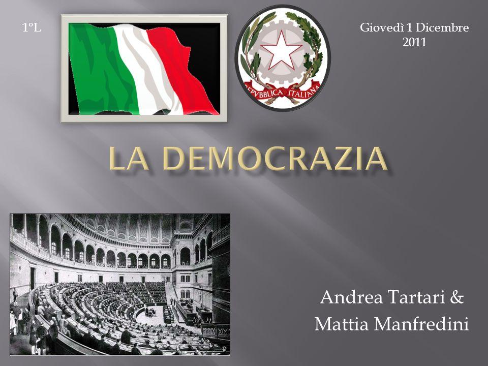 Andrea Tartari & Mattia Manfredini