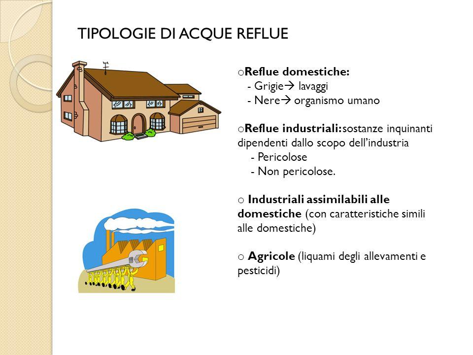 Tipologie di acque trattamenti di depurazione ppt video for Schema scarico acque reflue domestiche