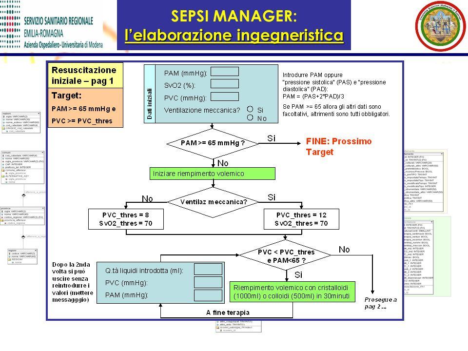 SEPSI MANAGER: l'elaborazione ingegneristica