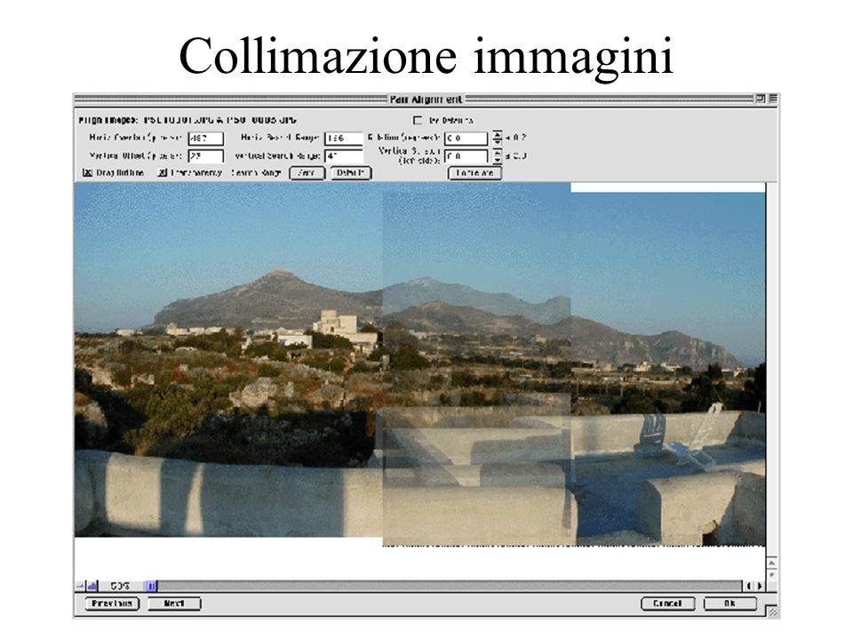Collimazione immagini