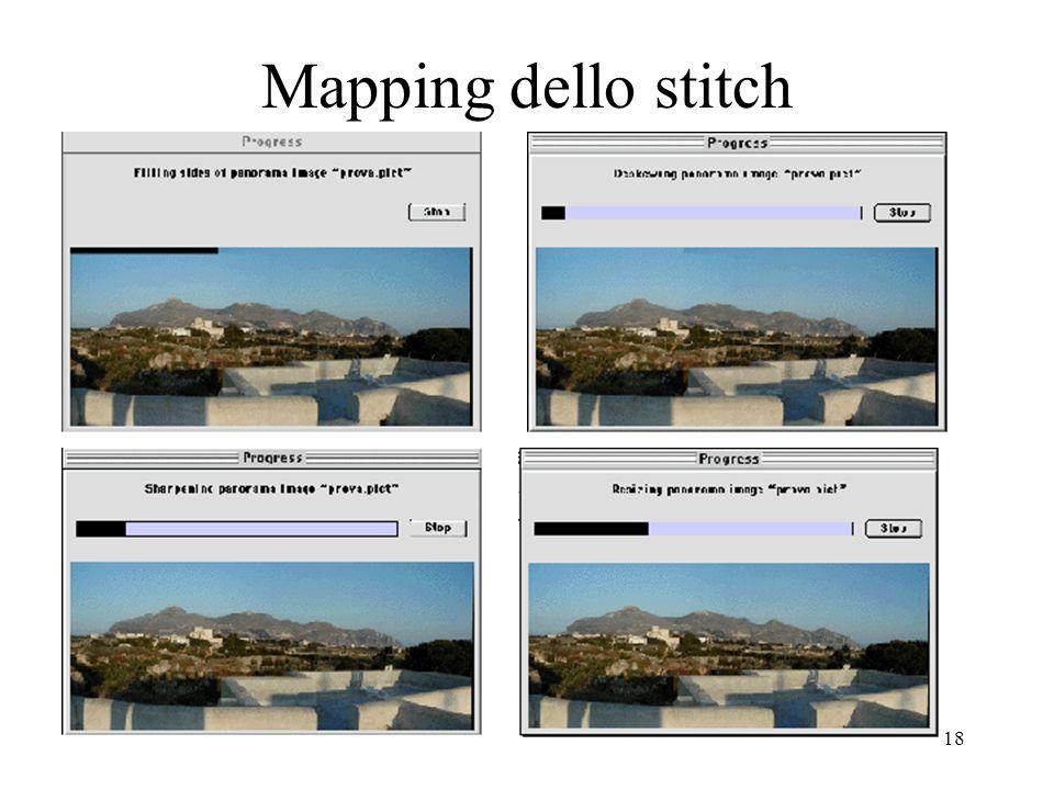 Mapping dello stitch