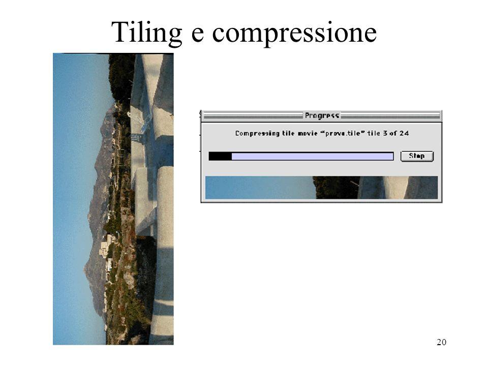 Tiling e compressione