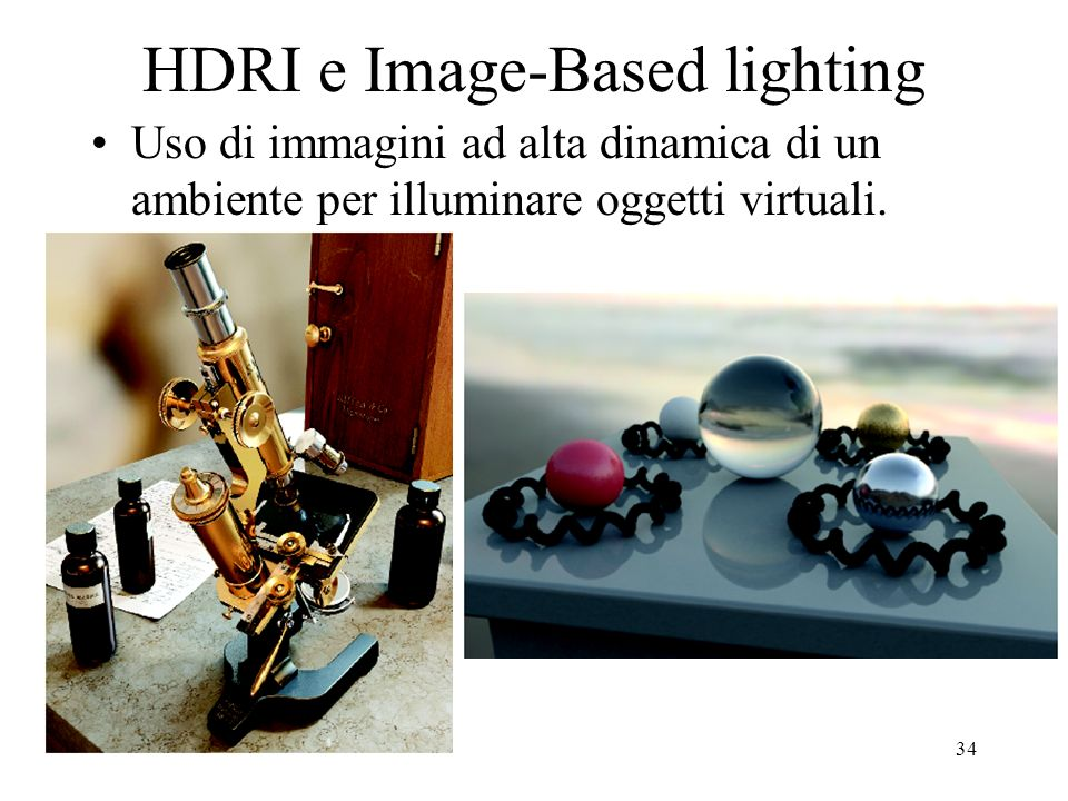 HDRI e Image-Based lighting