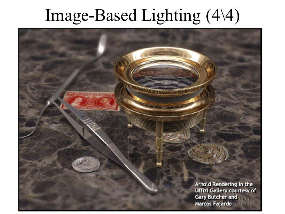 Image-Based Lighting (4\4)