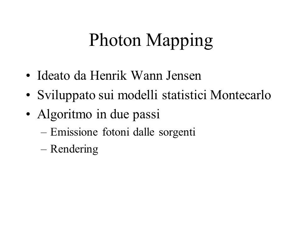 Photon Mapping Ideato da Henrik Wann Jensen