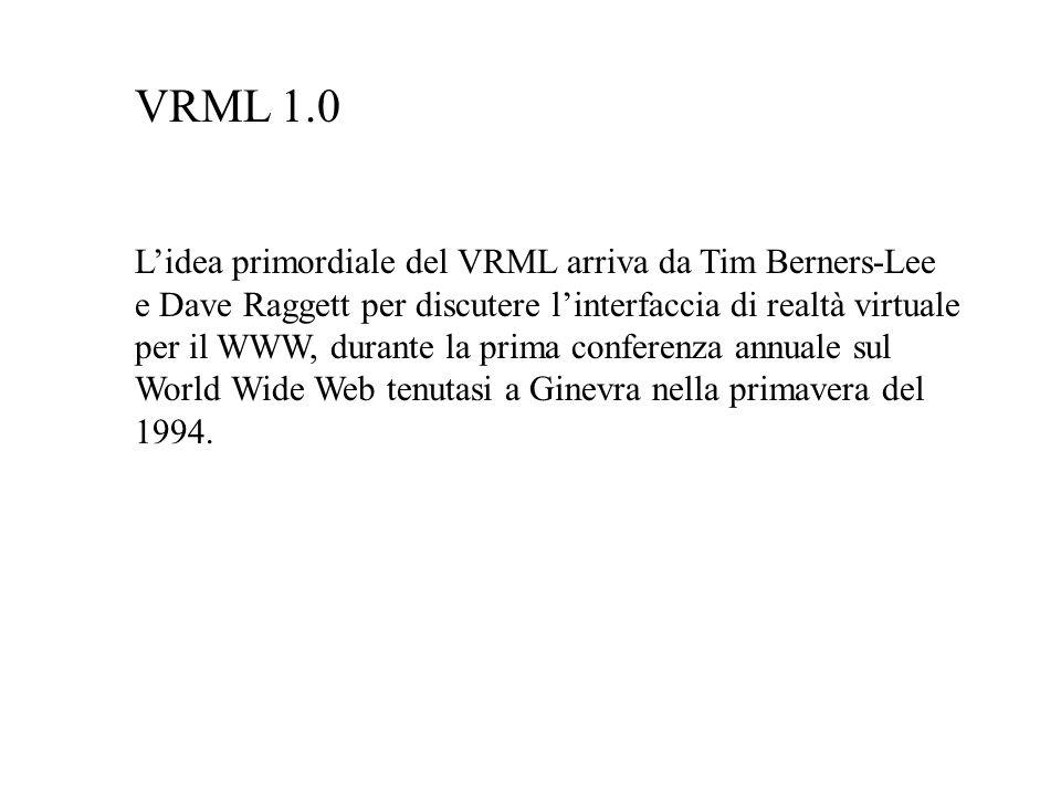 VRML 1.0