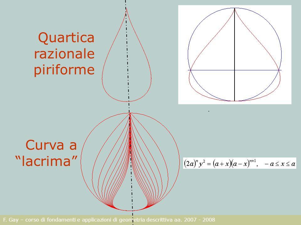 Quartica razionale piriforme