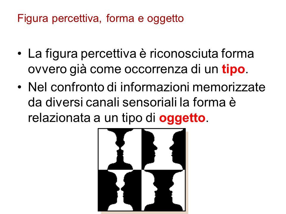 Figura percettiva, forma e oggetto