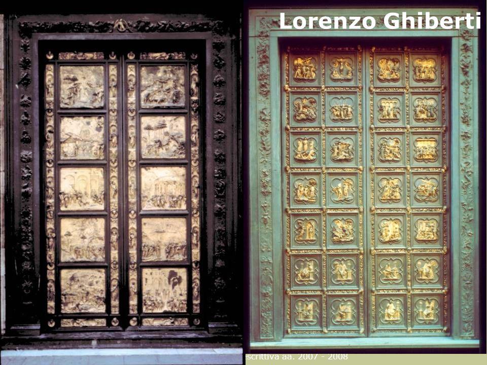 Lorenzo Ghiberti F. Gay – corso di fondamenti e applicazioni di geometria descrittiva aa.
