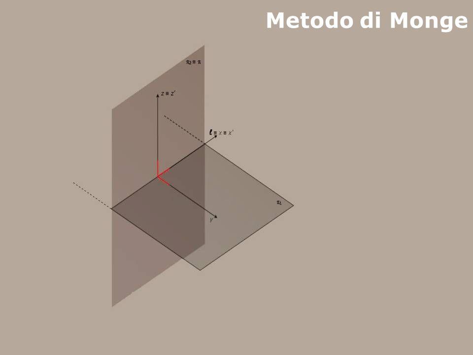 Metodo di Monge F. Gay – corso di fondamenti e applicazioni di geometria descrittiva aa.