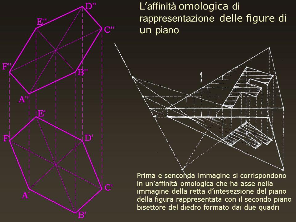 L'affinità omologica di rappresentazione delle figure di un piano