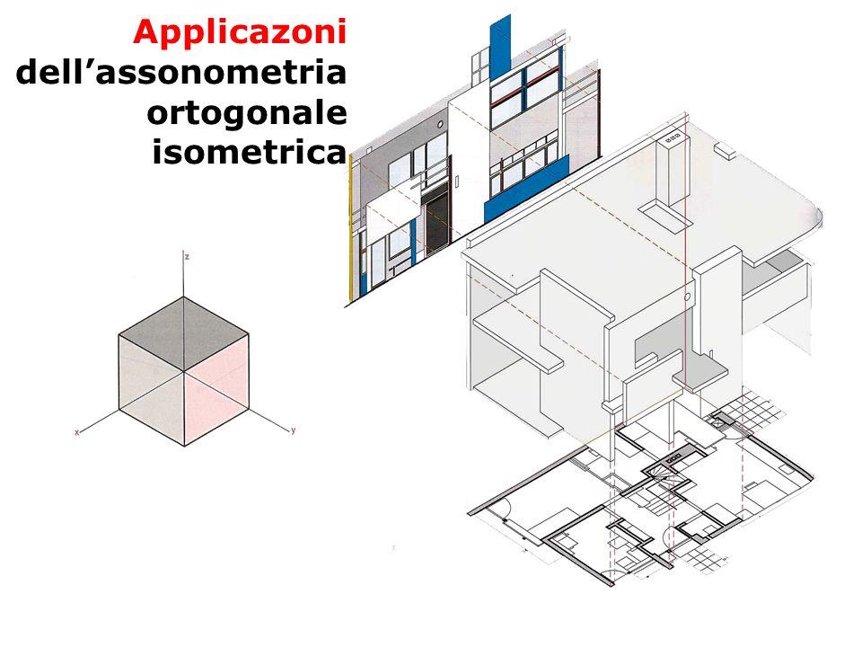 Applicazoni dell'assonometria ortogonale isometrica