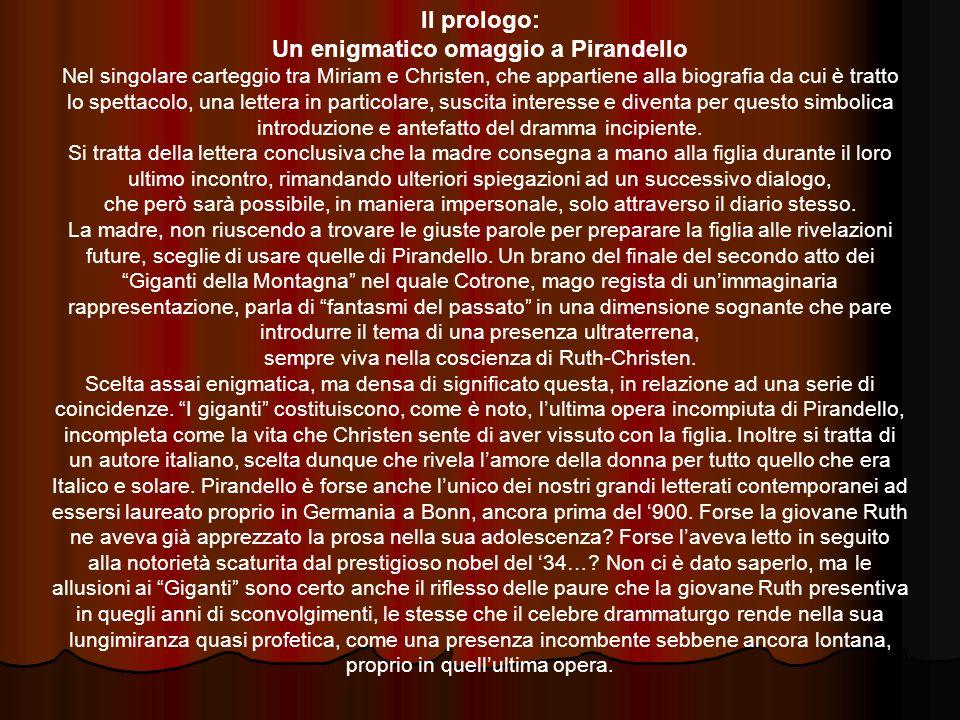 Un enigmatico omaggio a Pirandello