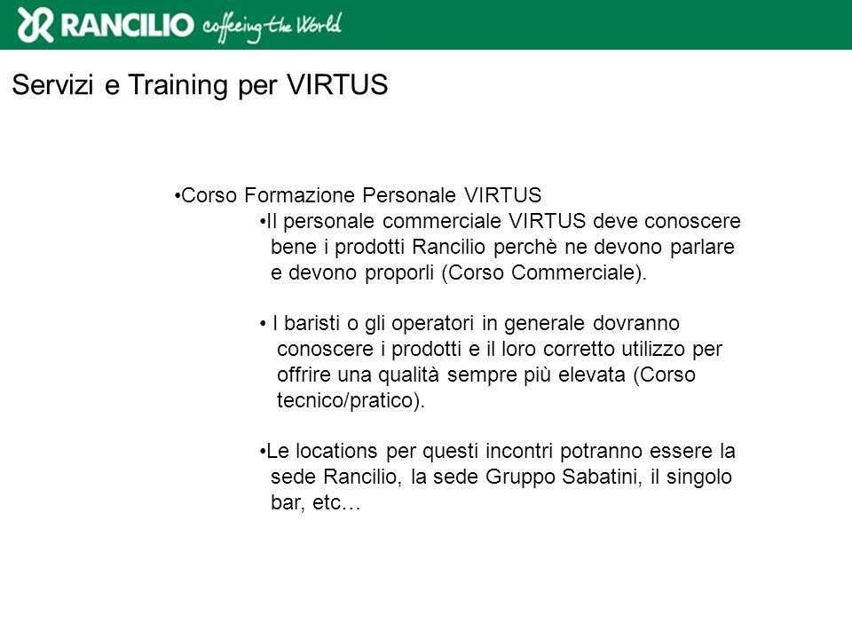 Servizi e Training per VIRTUS