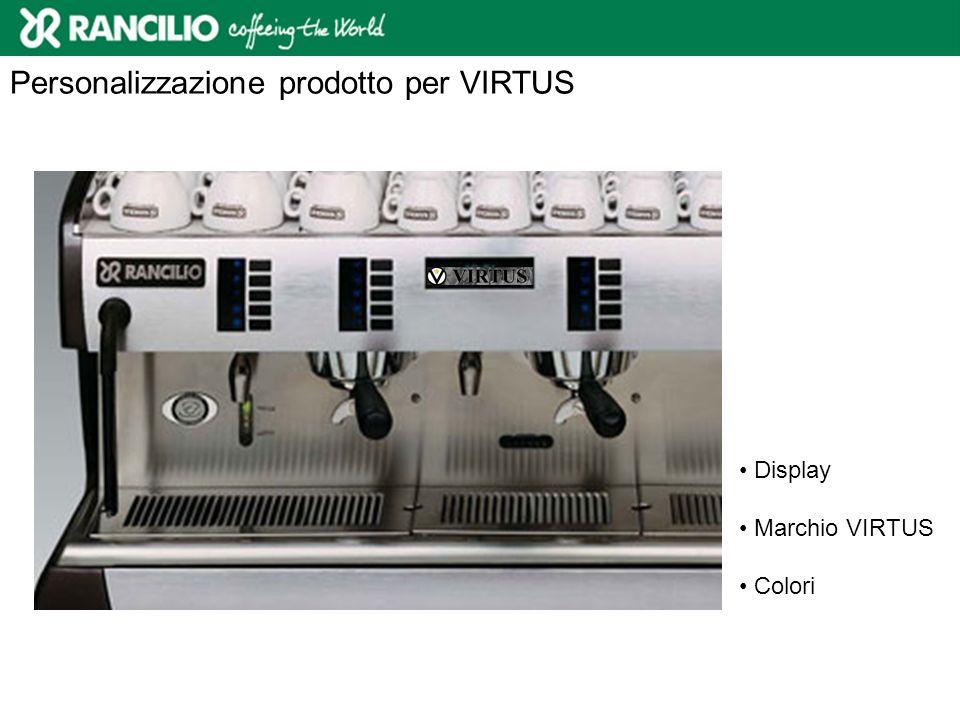 Personalizzazione prodotto per VIRTUS