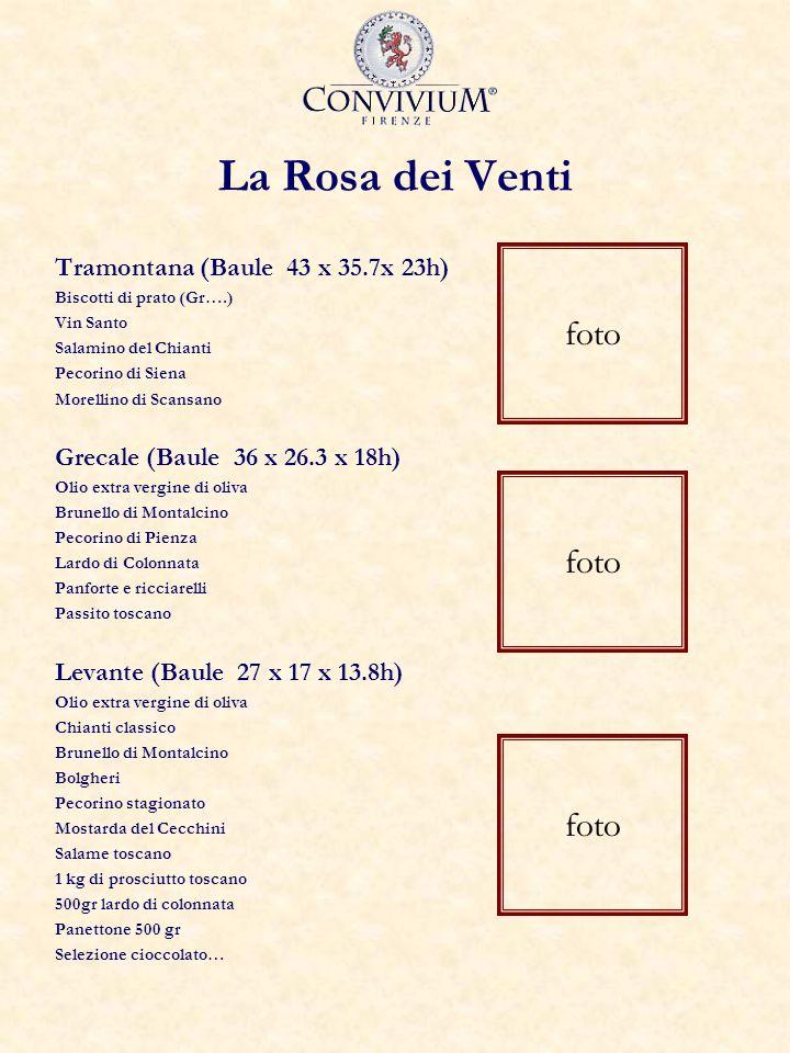La Rosa dei Venti foto foto foto Tramontana (Baule 43 x 35.7x 23h)