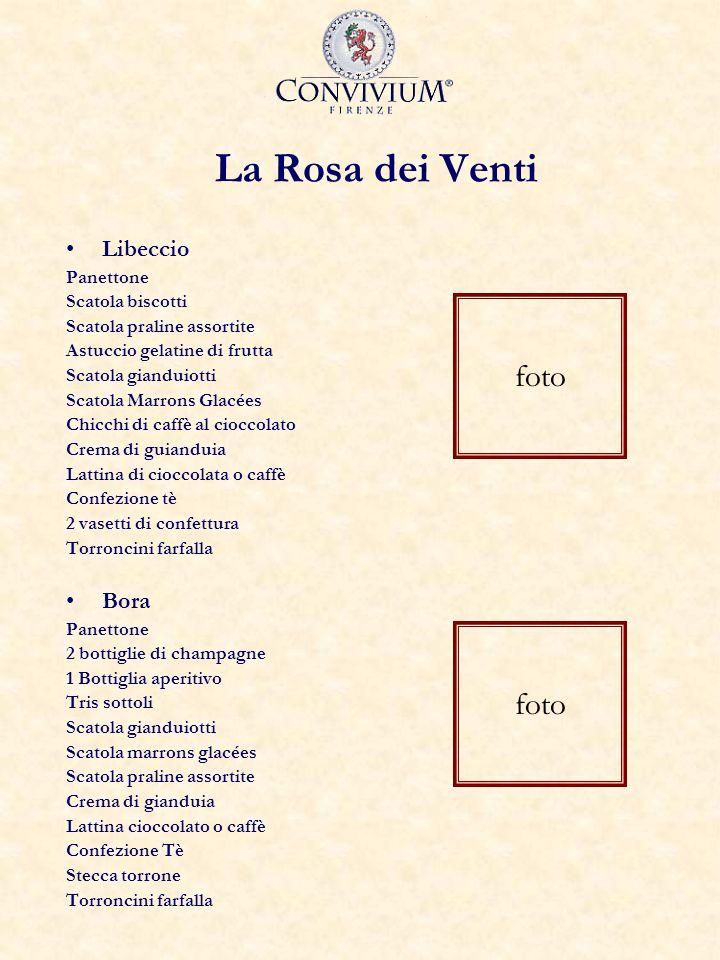 La Rosa dei Venti foto foto Libeccio Bora Panettone Scatola biscotti