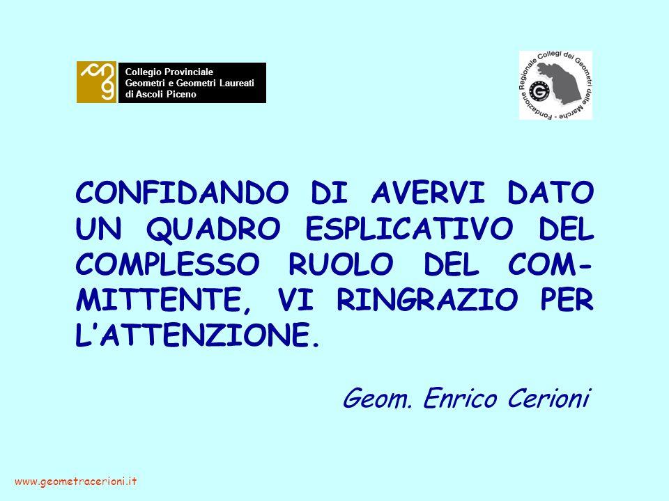 Collegio Provinciale Geometri e Geometri Laureati. di Ascoli Piceno.