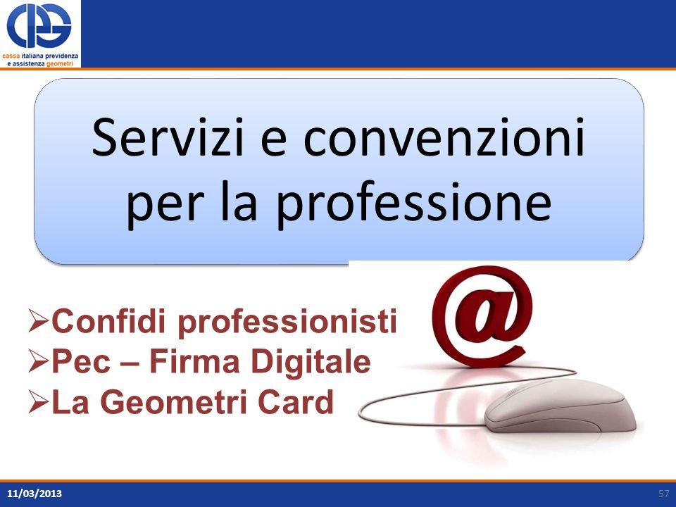 Servizi e convenzioni per la professione
