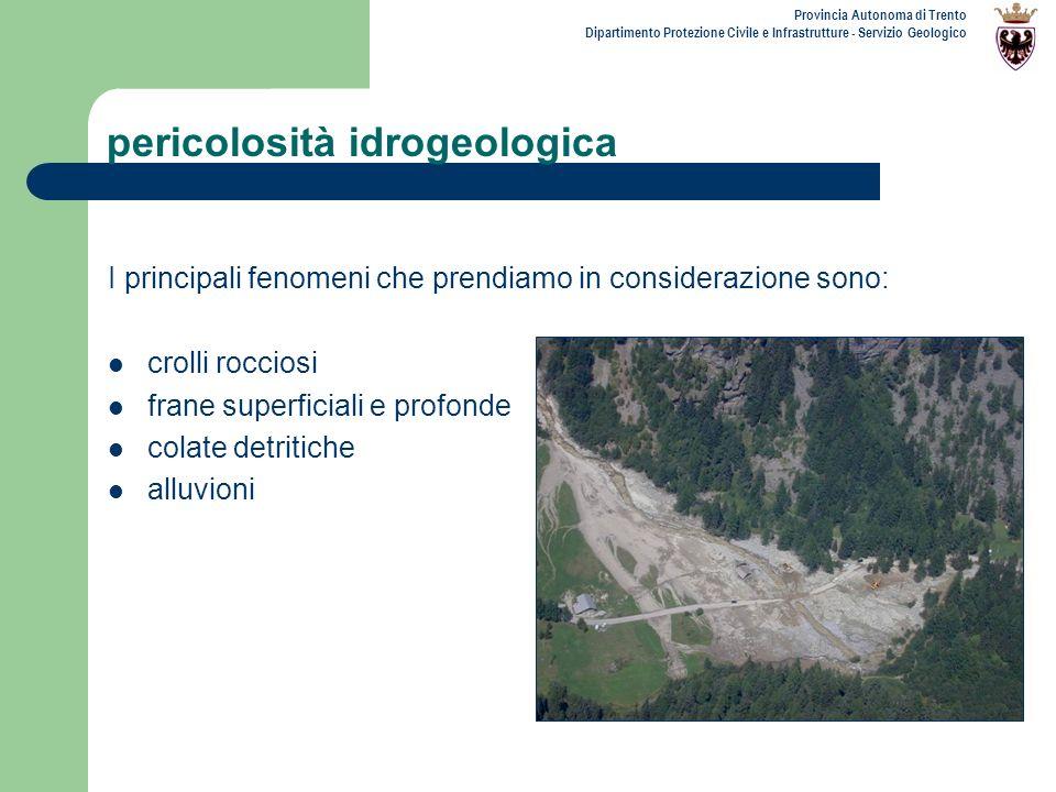 pericolosità idrogeologica