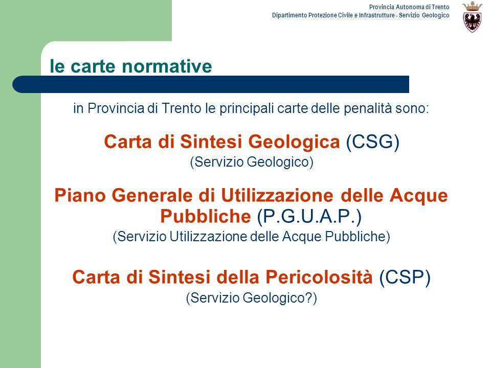 Carta di Sintesi Geologica (CSG)