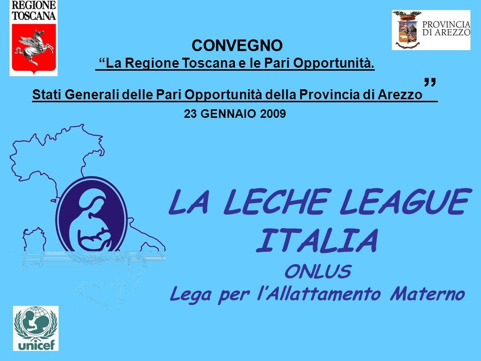 LA LECHE LEAGUE ITALIA ONLUS Lega per l'Allattamento Materno