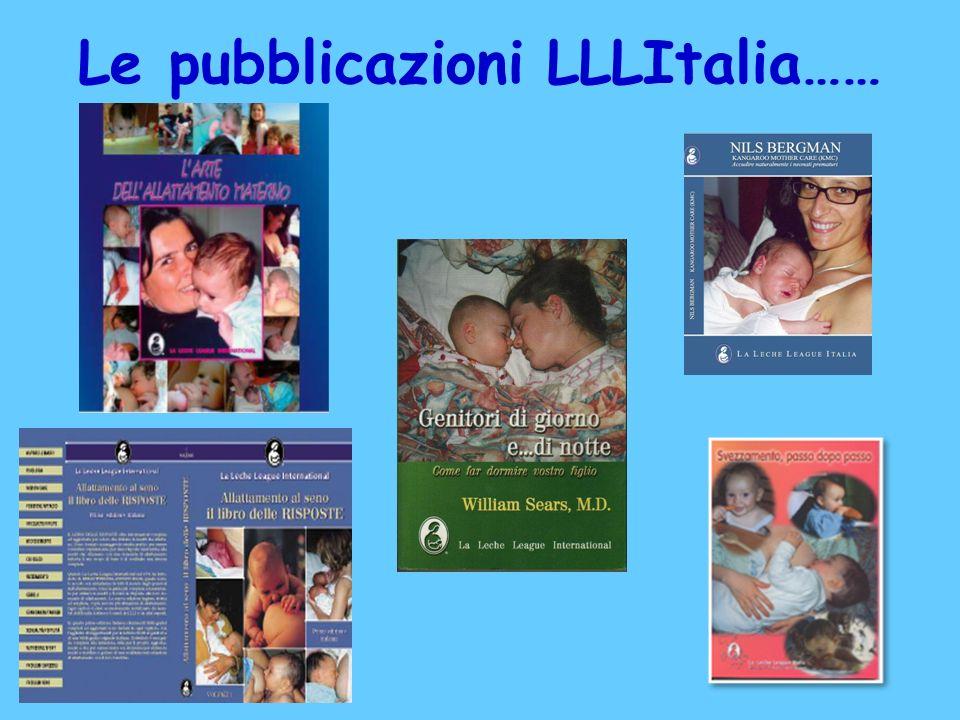 Le pubblicazioni LLLItalia……
