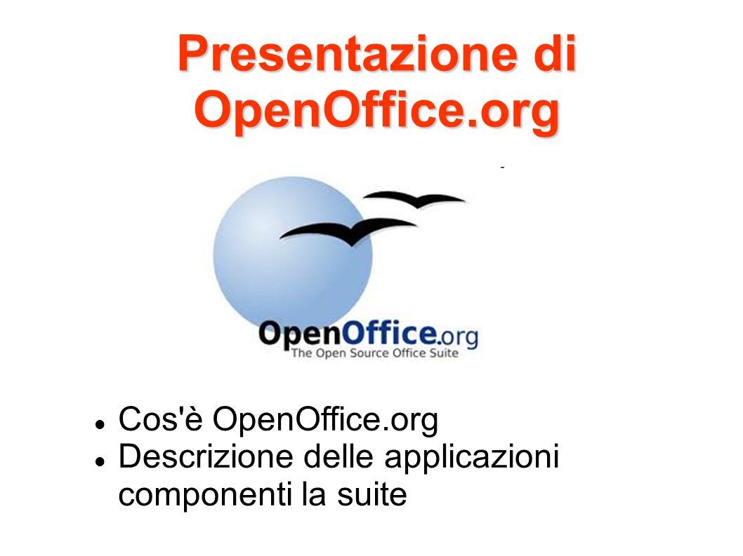 Presentazione di OpenOffice.org