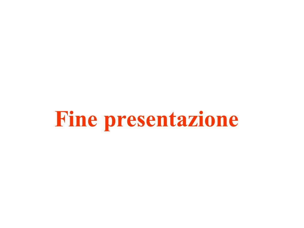 Fine presentazione Presentazione 28