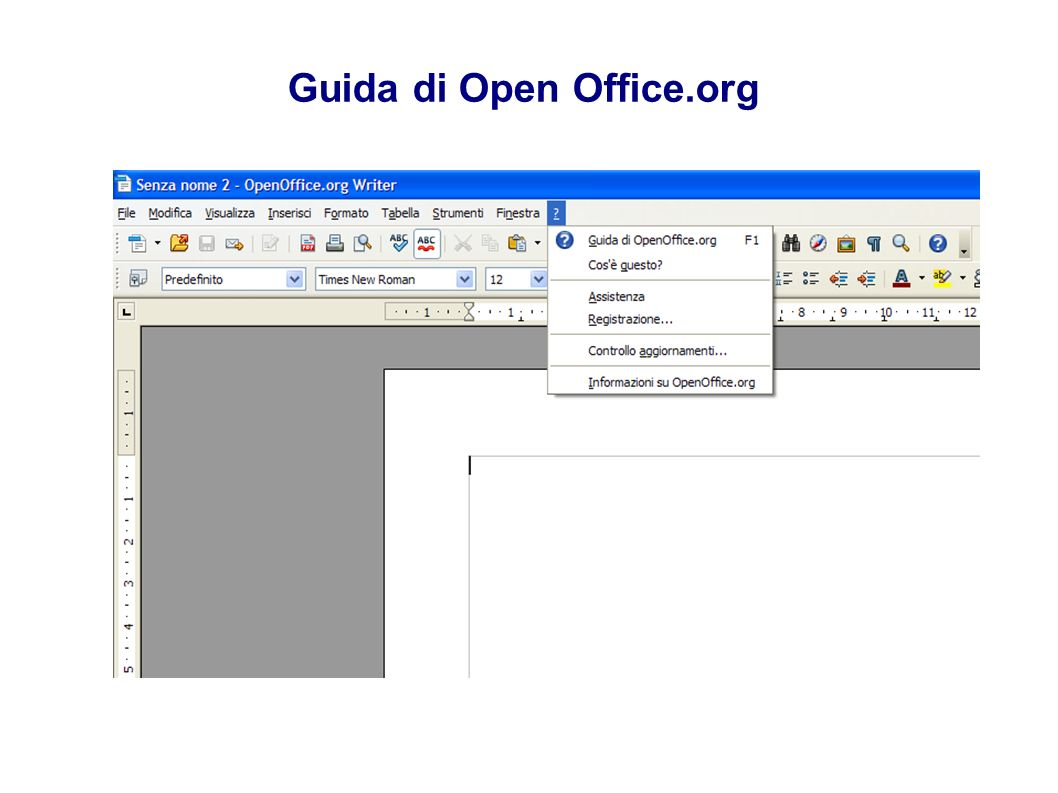 Guida di Open Office.org