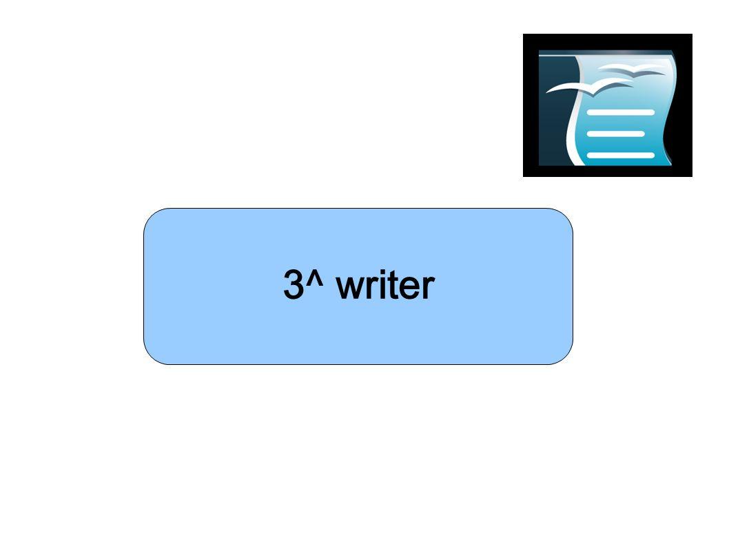 3^ writer Presentazione 1 Presentazione 1